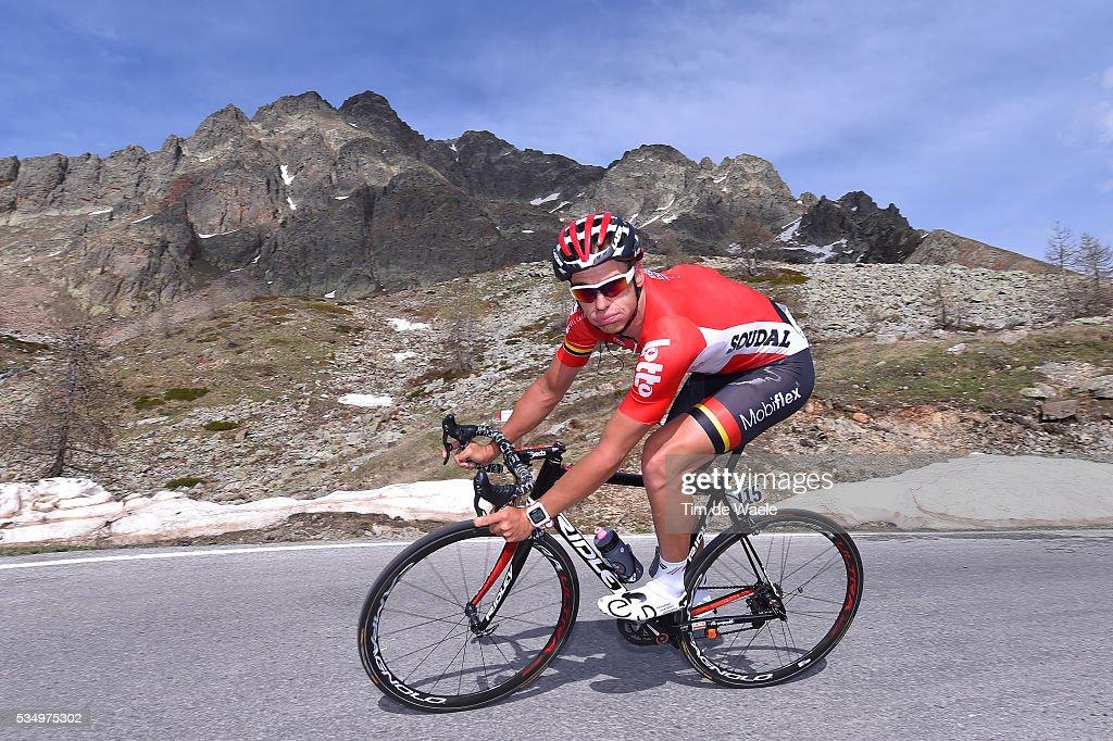 99th Tour of Italy 2016 / Stage 20 Adam HANSEN (AUS)/ Guillestre - Sant'Anna Di Vinadio 2015m (134km)/ Giro /