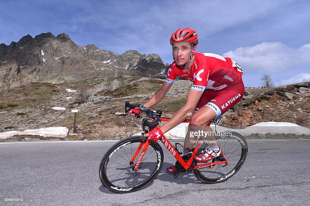 99th Tour of Italy 2016 / Stage 20 Pavel KOCHETKOV (RUS)/ Guillestre - Sant'Anna Di Vinadio 2015m (134km)/ Giro /