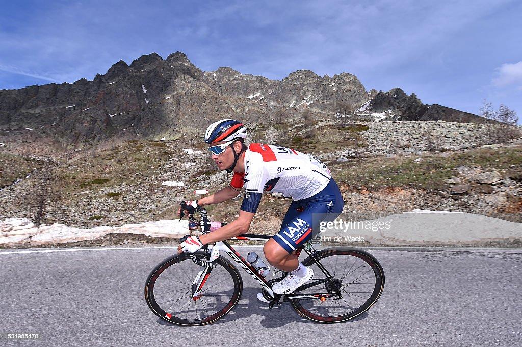 99th Tour of Italy 2016 / Stage 20 Stefan DENIFL (AUT)/ Guillestre - Sant'Anna Di Vinadio 2015m (134km)/ Giro /