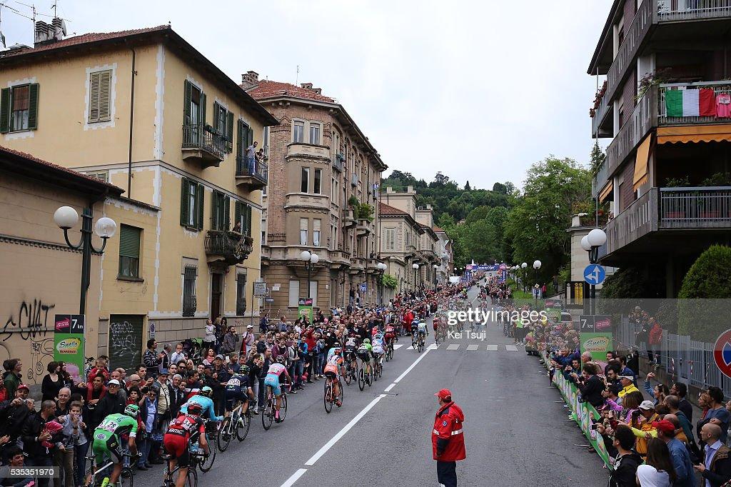 99th Tour of Italy 2016 / Stage 21 Illustration / Peloton / TORINO City / Landscape / Public / Cuneo - Torino (163Km)/ Giro /