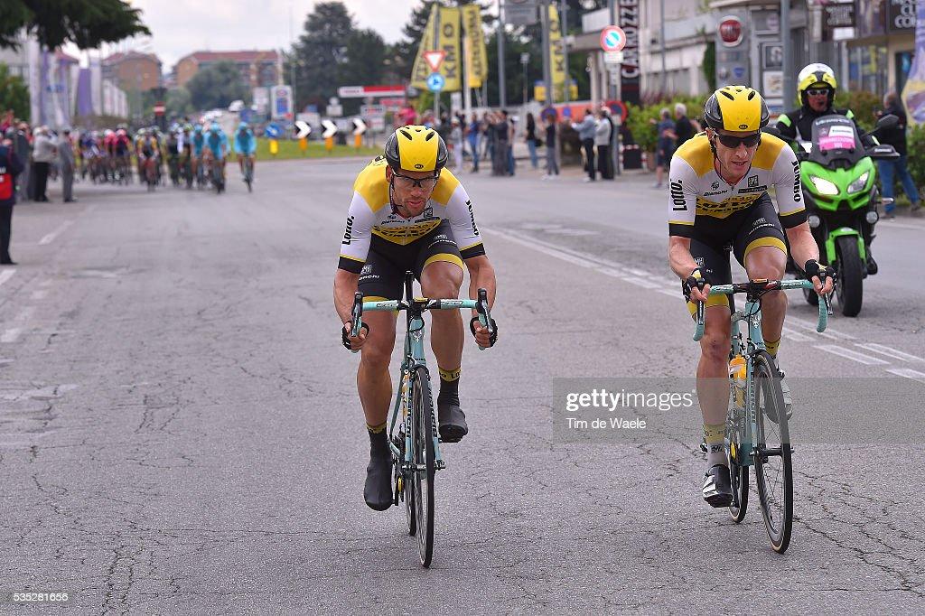 99th Tour of Italy 2016 / Stage 21 Jos VAN EMDEN (NED)/ Martijn KEIZER (NED)/ Cuneo - Torino (163km)/ Giro /