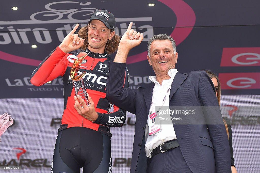99th Tour of Italy 2016 / Stage 21 Podium / Daniel OSS (ITA)/ Celebration / Cuneo - Torino (163km)/ Giro /