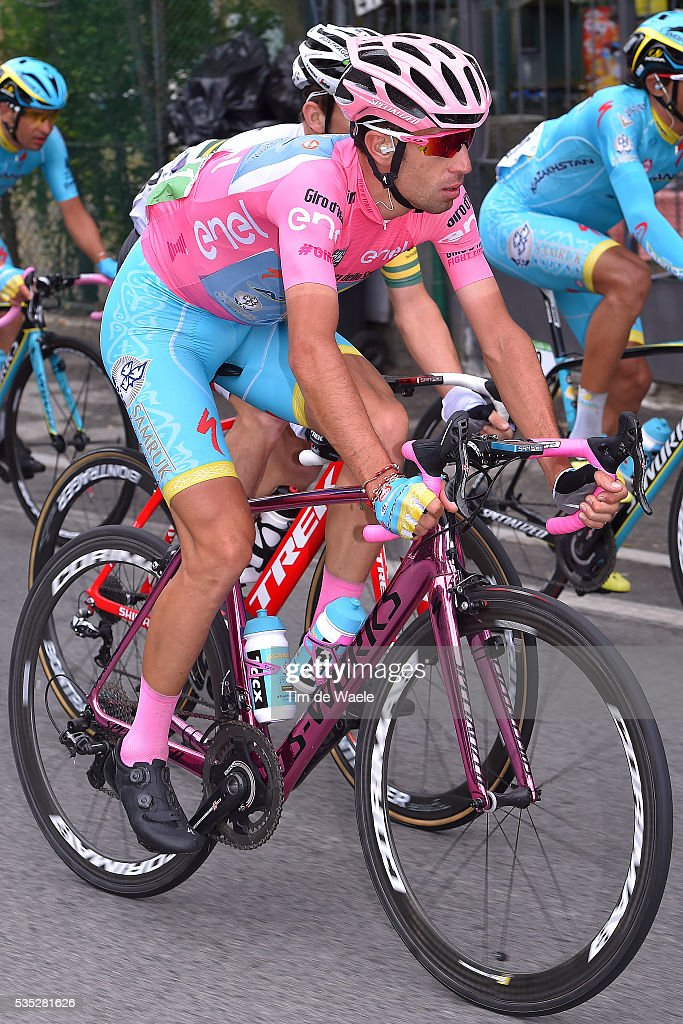 99th Tour of Italy 2016 / Stage 21 Vincenzo NIBALI (ITA) Pink Leader Jersey / Cuneo - Torino (163km)/ Giro /