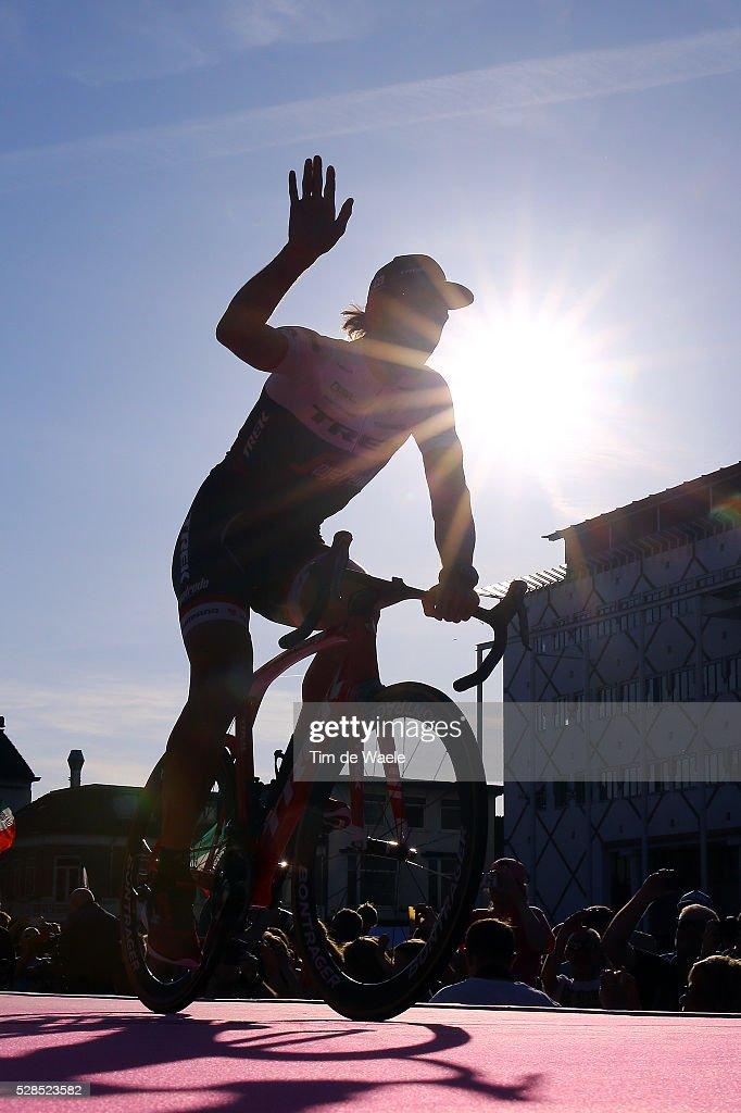 99th Tour of Italy 2016 / Team Presentation Fabian CANCELLARA (SUI) Team TREK - SEGAFREDO (USA)/ Silhouet / Giro /