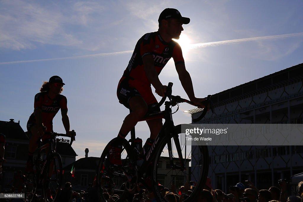 99th Tour of Italy 2016 / Team Presentation Illustration Silhouet / Manuel QUINZIATO (ITA) BMC RACING TEAM (USA)/ Giro /