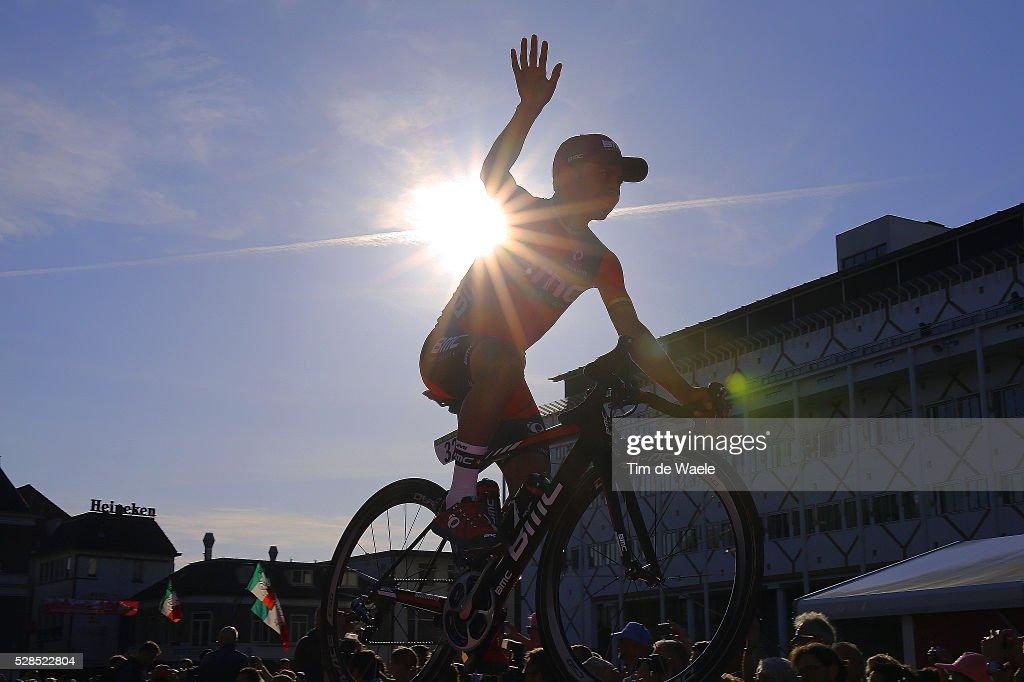 99th Tour of Italy 2016 / Team Presentation Illustration Silhouet / Darwin ATAPUMA (COL) BMC RACING TEAM (USA)/ Giro /