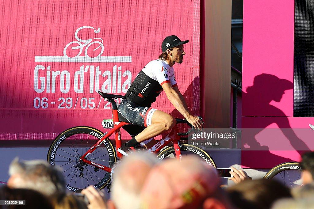 99th Tour of Italy 2016 / Team Presentation Team TREK - SEGAFREDO (USA)/ Fabian CANCELLARA (SUI)/ Giro /
