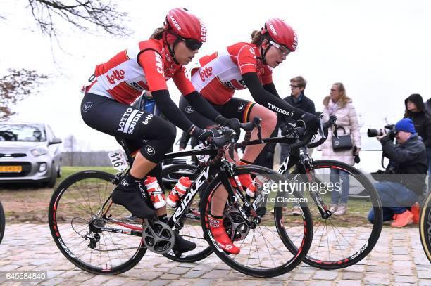 9th Spar Omloop Van Het Hageland / Women Annelies DOM / Trine SCHMIDT / Tielt Tielt / Women / Tielt Trophy /