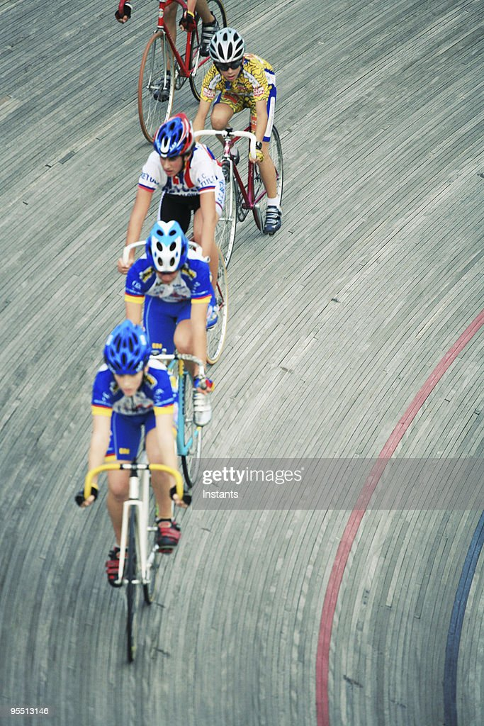 Cycling Action : Stock Photo