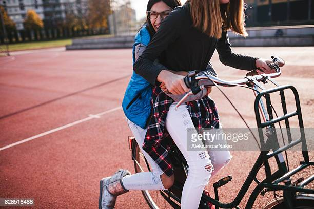Cycling after classes