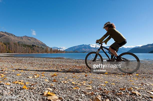 Cycling along the shore