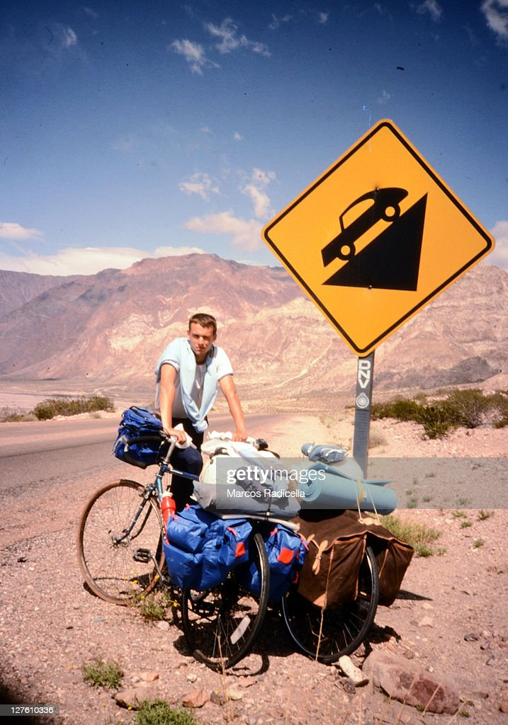 Cycling Andes : ストックフォト