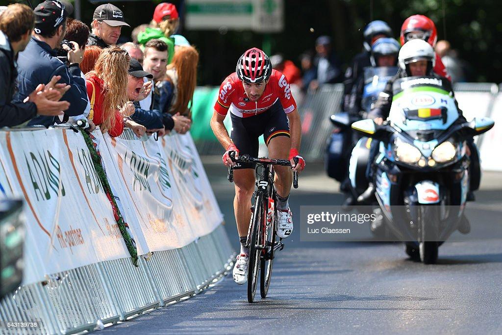 Belgian Road Championship 2016 / Elite Men Thomas DE GENDT (BEL)/ Lacs de l'Eau d'Heure Lire - Lacs de l'Eau d'Heure Lire (231km) /