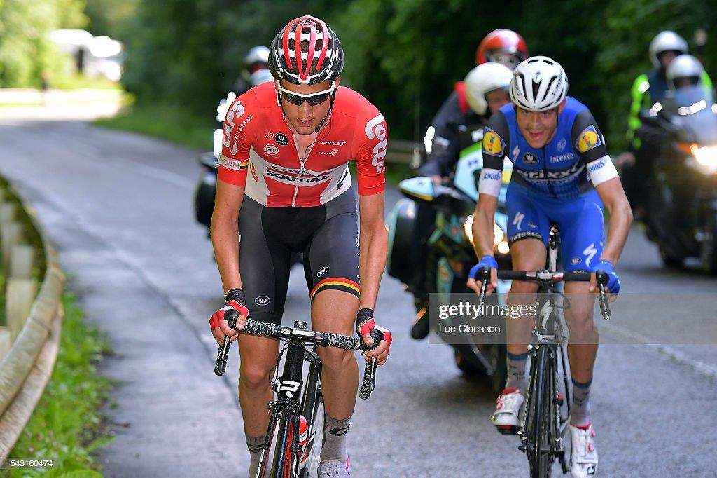 Belgian Road Championship 2016 / Elite Men Tim WELLENS (BEL) / Lacs de l'Eau d'Heure Lire - Lacs de l'Eau d'Heure Lire (231km) /