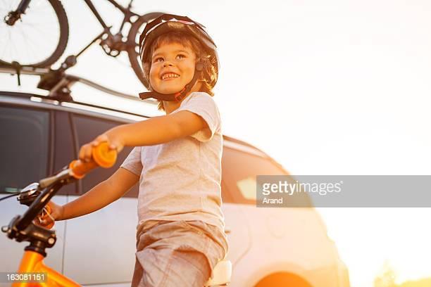 Garçon cyclisme