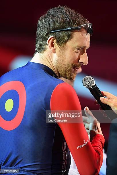 Ciao Fabian Fabian Cancellara Bradley WIGGINS / Farewell Race Fabian CANCELLARA / Kuipke Track Velodrome / Tim De WaeleLC/Tim De Waele/Corbis via...