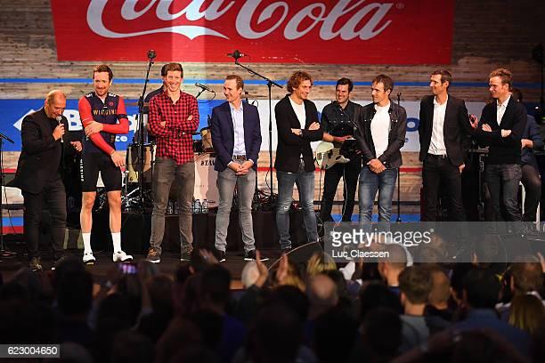 Ciao Fabian Fabian Cancellara Karl VANNIEUWKERKE / Bradley WIGGINS / Sep VANMARCKE / Edward THEUNS / Filippo POZZATO / Markel IRIZAR / Frank SCHLECK...