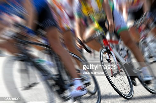 Cycling Competition. Color Image