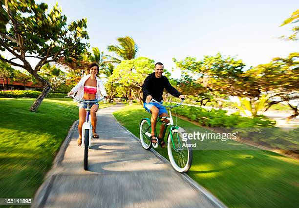 Radfahren Paar