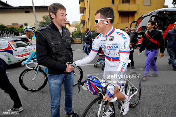 Giro de Lombardia 2010 Dennis MENCHOV / Alexandr KOLOBNEV / Milano Como / Ronde van Lombardije / Tour / Milan Milaan /Tim De Waele   Location Como...