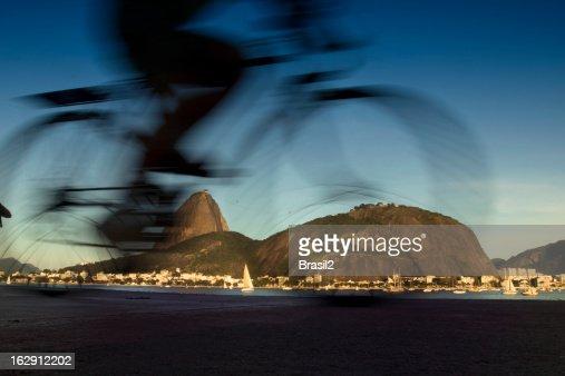Cycling in Rio de Janeiro city