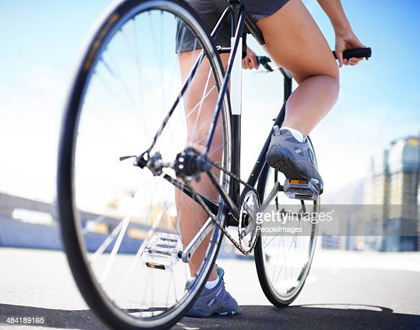 Cycling is an excellent way to shape up!