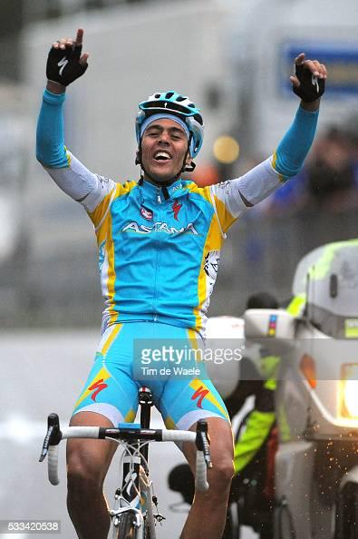 Paris Nice 2011 / Stage 7 Arrival / Remy Di Gregorio / Celebration Joie Vreugde / Brignoles BiotSophia Antipolis / Etape Rit / Tim De Waele |...