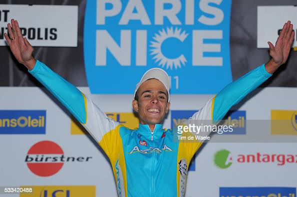 Paris Nice 2011 / Stage 7 Podium / Remy Di Gregorio Celebration Joie Vreugde / Brignoles BiotSophia Antipolis / Etape Rit / Tim De Waele | Location...