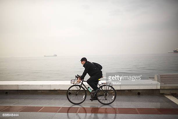 Cycling Senior Man