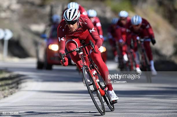 Team KatushaAlpecin 2017 / Training camp Reto HOLLENSTEIN / Training camp Team KatushaAlpecin / ©Tim De WaeleLC/Tim De Waele/Corbis via Getty Images
