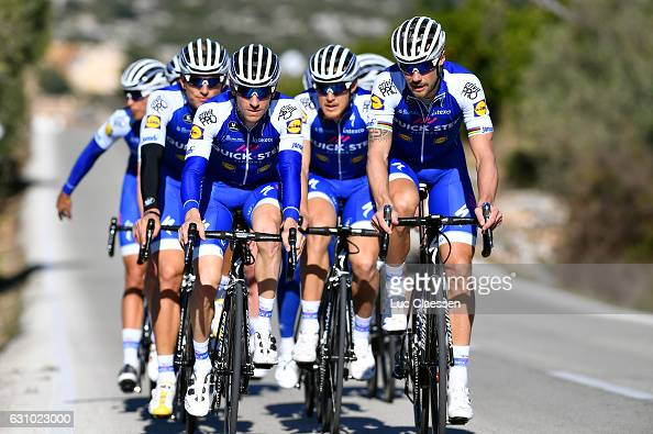 Devenyns stock photos and pictures getty images for Quick step floors cycling team