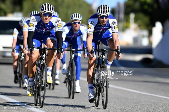 Quickstep tom boonen stock photos and pictures getty images for Quick step floors cycling team