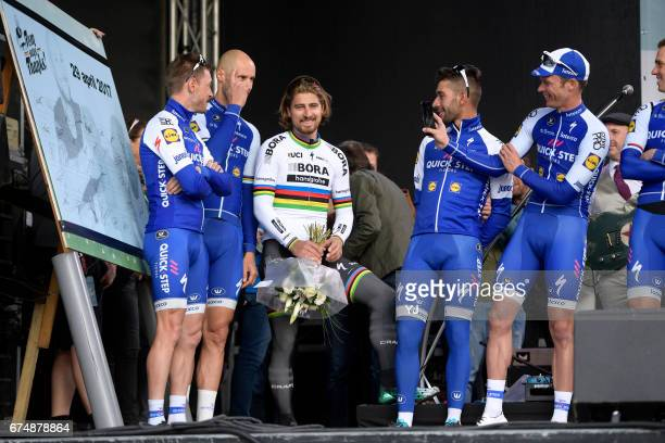 Tom Says Thanks / Farewell Race Peter SAGAN / Tom BOONEN / Fernando GAVIRIA / Iljo KEISSE / Dries DEVENYNS / Zivermeer / Team QuickStep Floors /