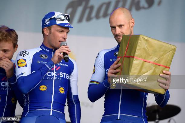 Tom Says Thanks / Farewell Race Tom BOONEN / / Iljo KEISSE / Zivermeer / Team QuickStep Floors /