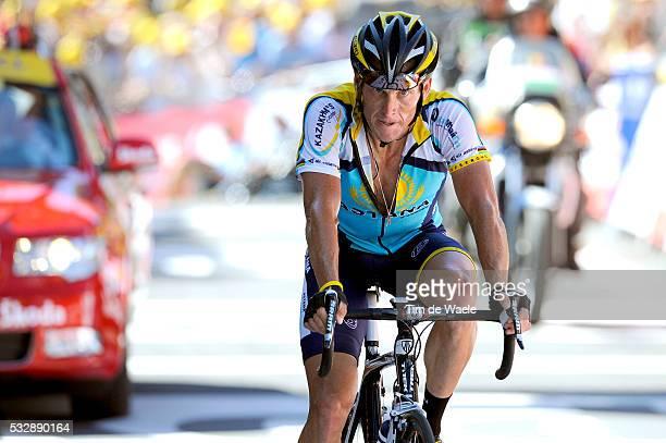 'Cycling Tour de France 2009 / Stage 15 Arrival / ARMSTRONG Lance / Arrivee Aankomst / Pontarlier Verbier Rit Etape / TDF / Ronde van Frankrijk / Tim...