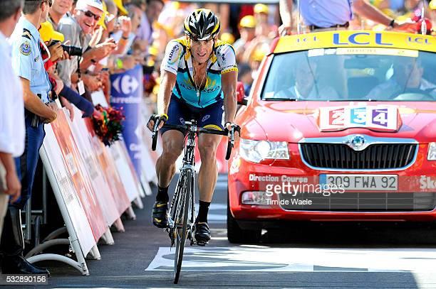 'Cycling Tour de France 2009 / Stage 15 Arrival / ARMSTRONG Lance Deception Teleurstelling / Arrivee Aankomst / Pontarlier Verbier Rit Etape / TDF /...