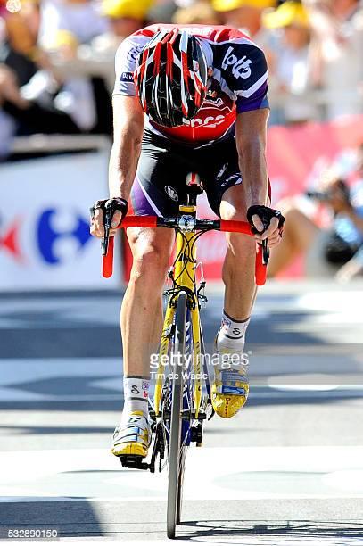 'Cycling Tour de France 2009 / Stage 15 Arrival / EVANS Cadel Deception Teleurstelling / Pontarlier Verbier / Rit Etape / TDF / Ronde van Frankrijk /...