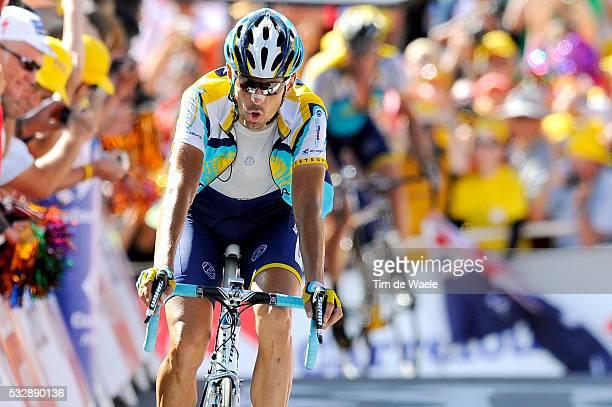 'Cycling Tour de France 2009 / Stage 15 Arrival / KLODEN KLOEDEN Andreas / Arrivee Aankomst / Pontarlier Verbier Rit Etape / TDF / Ronde van...