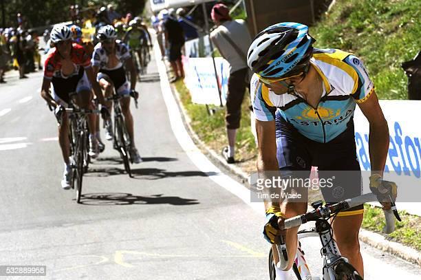 'Cycling Tour de France 2009 / Stage 15 CONTADOR Alberto / Andy SCHLECK / Frank SCHLECK / Pontarlier Verbier Rit Etape / TDF / Ronde van Frankrijk /...