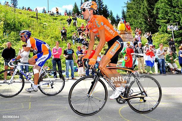 'Cycling Tour de France 2009 / Stage 15 FLECHA Juan Antonio / ASTARLOZA Mikel / Pontarlier Verbier / Rit Etape / TDF / Ronde van Frankrijk / Tim De...