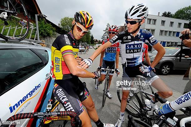Tour de Suisse 2010 / Stage 8 BOONEN Tom / SCHLECK Frank / SCHLECK Andy / Wetzikon Liestal / Etape Rit / Tim De Waele