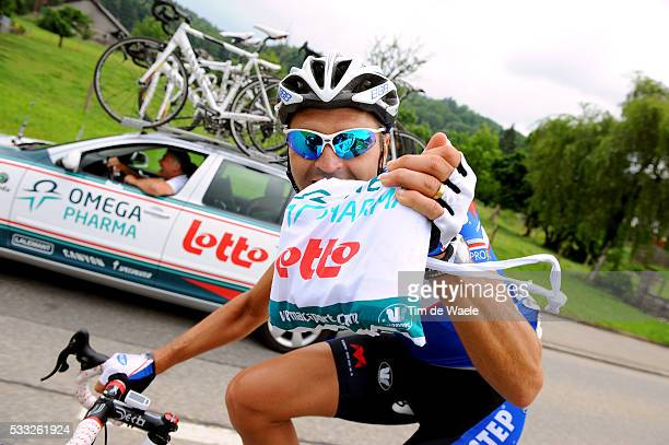 Tour de Suisse 2010 / Stage 8 HULSMANS Kevin / Ravitaillement Bevoorrading / Omega Pharma Lotto Team / Wetzikon Liestal / Etape Rit / Tim De Waele