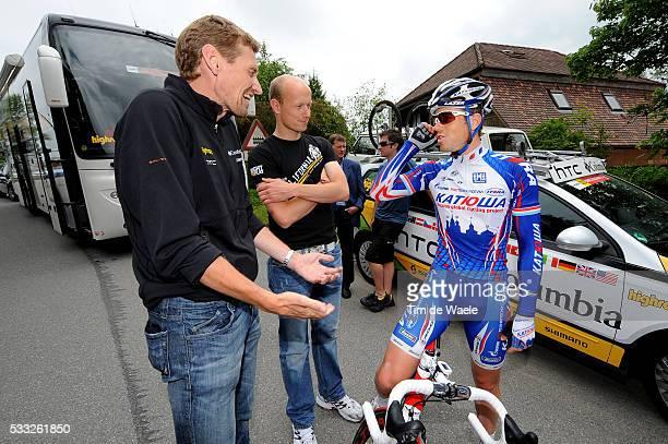 Tour de Suisse 2010 / Stage 8 KIRCHEN Kim / Rolf ALTDAG Manager Team HTC Columbia / Helge RIEPENHOF Doctor Dokter / Wetzikon Liestal / Etape Rit /...