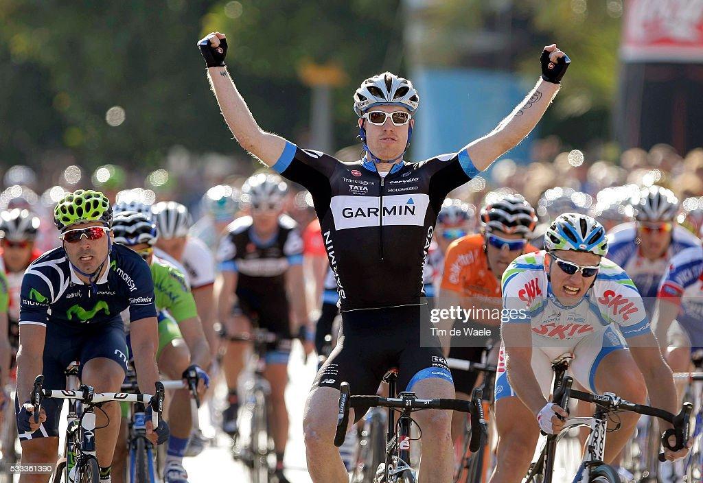 Tour Mallorca 2011 / Stage 1 Arrival / Tyler FARRAR (Usa) Celebration Joie Vreugde / Marcel Kittel (Ger)/ Francisco Ventoso (Spa)/ Palma - Palma (116 Km)/ Trofeo Palma de Mallorca / Ronde / Rite Etape /(c)Tim De Waele