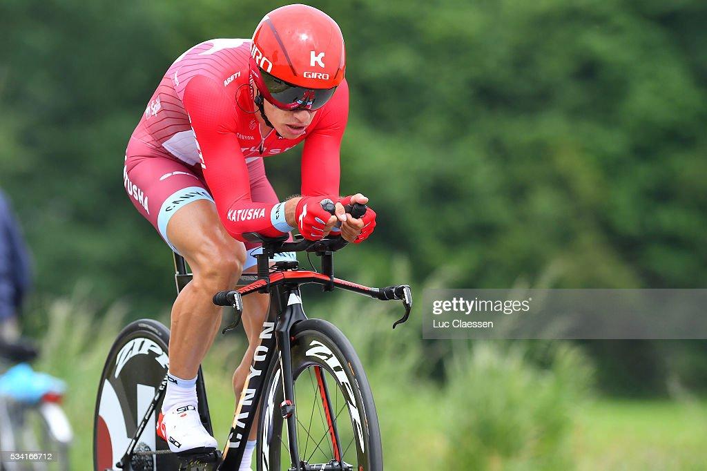 Tour of Belgium 2016 / Prologue Simon SPILAK (POL) / Beveren - Beveren (6Km)/ Time Trial ITT / Tour of Belgium /