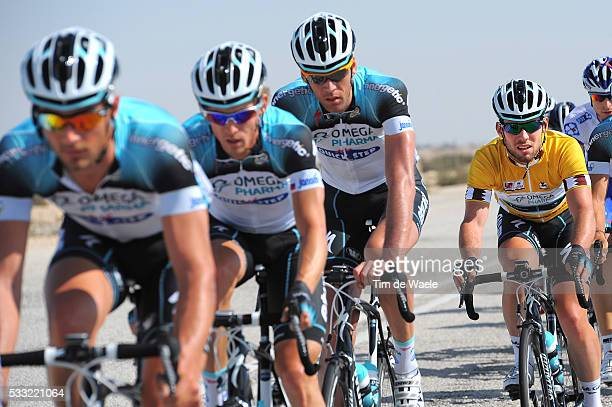 Tour of Qatar 2013 / Stage 5 Mark CAVENDISH Yellow Jersey / Team Omega Pharma QuickStep / Al Zubara Fort Madinat Al Shamal / Ronde Etape Rit /Tim De...