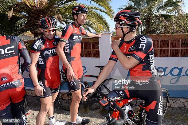 Training BMC Racing Team 2014 Alessandro BALAN / Klaas LODEWYCK / Sebastian LANDER / BMC Racing Team / Ploeg Equipe Tim De Waele
