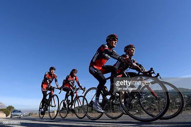 Training BMC Racing Team 2014 Greg VAN AVERMAET / Sebastian LANDER / Alessandro BALAN / Daniel OSS / BMC Racing Team / Ploeg Equipe Tim De Waele