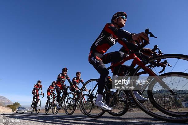 Training BMC Racing Team 2014 Greg VAN AVERMAET / Sebastian LANDER / BMC Racing Team / Ploeg Equipe Tim De Waele