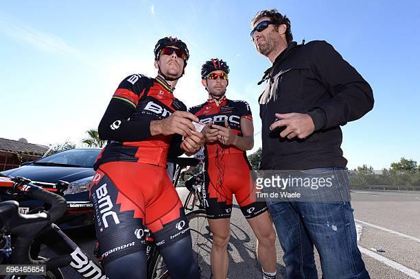 Training BMC Racing Team 2014 Philippe GILBERT / Sebastian LANDER / Max SCIANDRI Sportsdirector / BMC Racing Team / Ploeg Equipe Tim De Waele